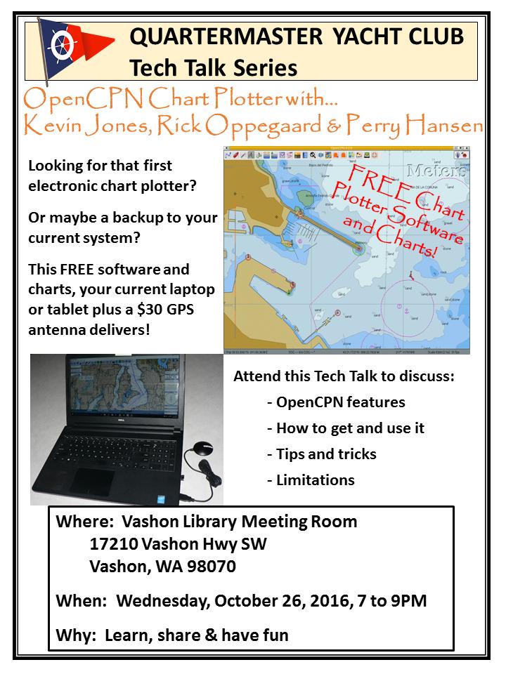 Quartermaster Yacht Club - FREE Marine Chart Plotter Software and Charts